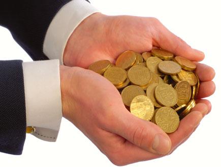 חופן מטבעות (צילום: SXC)